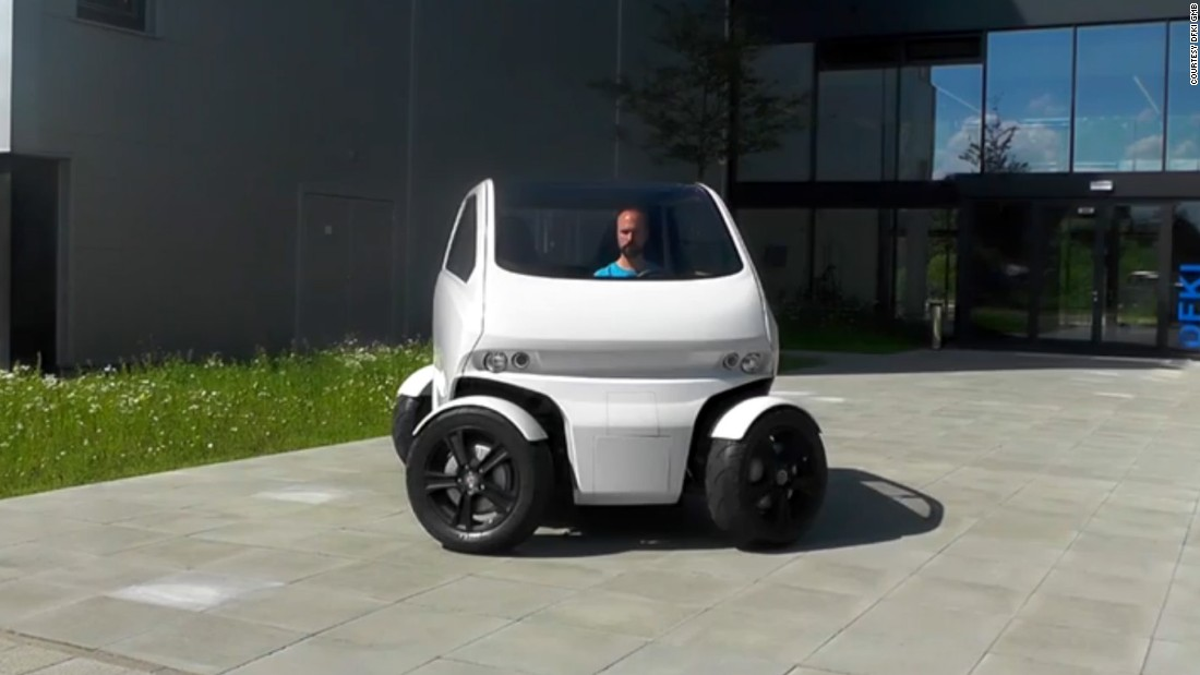 Eo Smart Connecting Car 2 Can Drive Sideways And Shrink