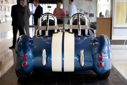 3D printed iconic Shelby Cobra is all electric under the hood
