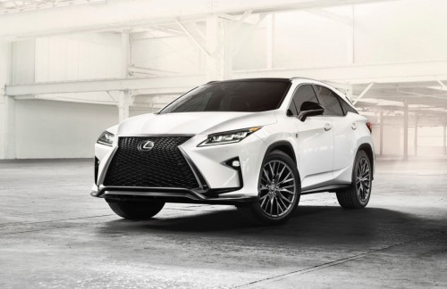 This is the 2016 Lexus RX
