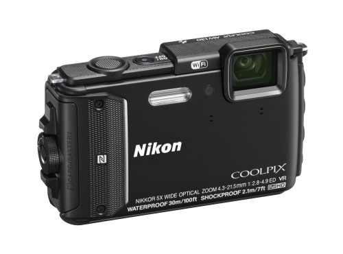 Nikon Coolpix AW130, S33 rugged cameras launch in March