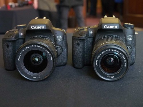 Canon Malaysia Brings in EOS 750D and 760D DSLR Cameras, Connect Station CS100 Media Hub