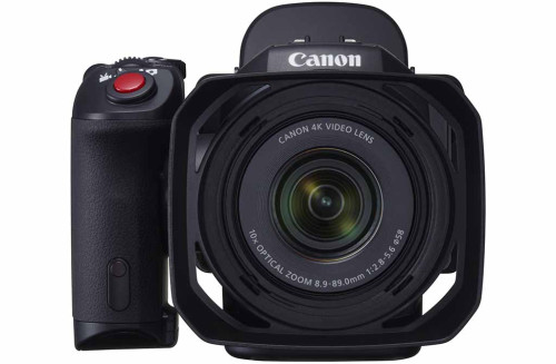 Canon XC10 'hybrid' 4k camera features 1″ sensor
