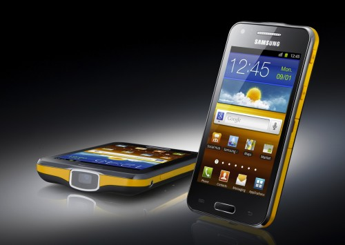 Samsung GALAXY Beam Review