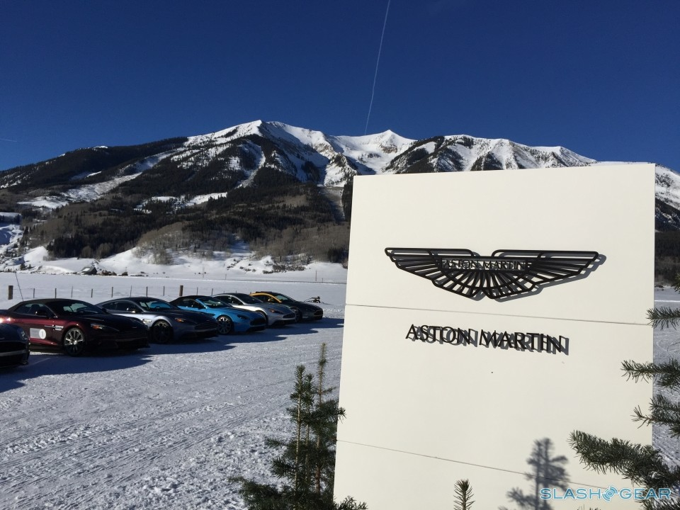 Aston Martin On Ice James Bond For A Day With American Express By