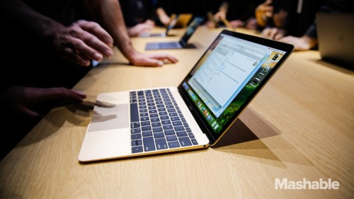 Windows 10 seems to run faster than OS X on the new MacBook