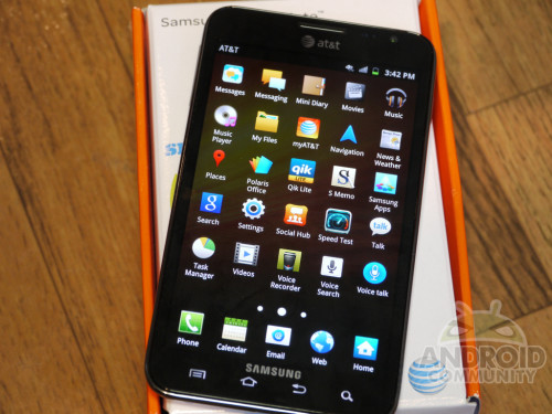 Galaxy Note for AT&T Review