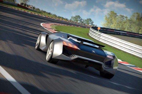 Peugeot Vision Gran Turismo rolls into the game with 875hp