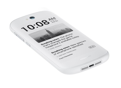 YotaPhone 2 launches in white with cheaper price, Lollipop