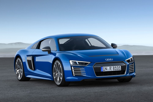 Audi R8 e-tron concept is ready to drive itself
