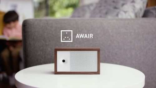 Awair monitors your home or office's air quality