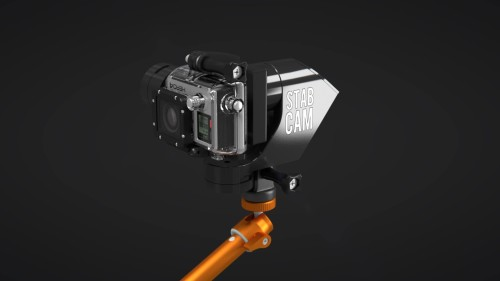 StabCam is a GoPro stabilizer for the camera's own mounts