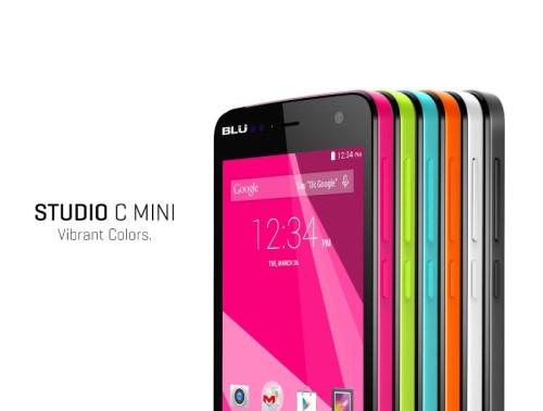 Blu Studio C smartphone sports quad core CPU and Android 5.0