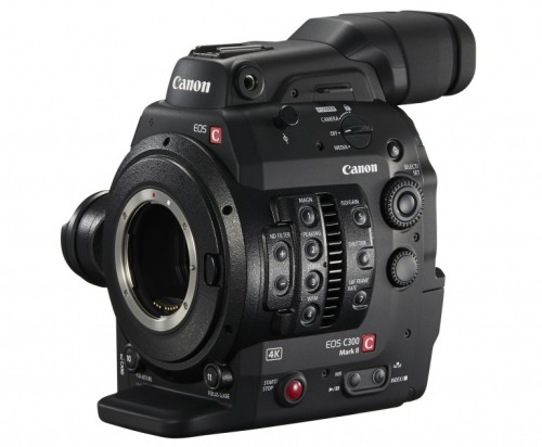 Canon EOS C300 Mark II revealed with 4K video