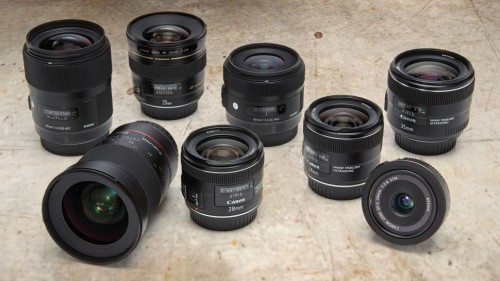 8 best wide-angle prime lenses for Canon DSLRs