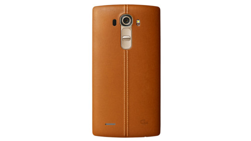 LG G4 ready to take on Samsung with leather, batteries, curves