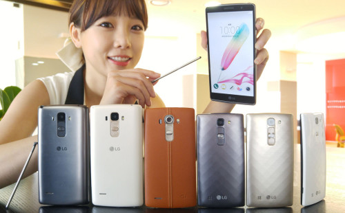 LG Introduces Midrange G4 Stylus, G4c