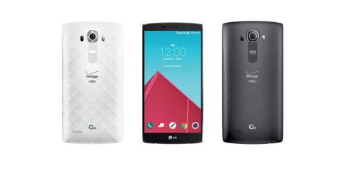 Verizon starts LG G4 pre-order 28th May, G Pad X8.3 in tow