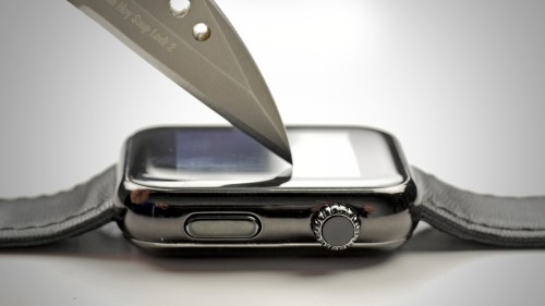 Apple Watch scratch resistance: Ion-X vs. sapphire glass