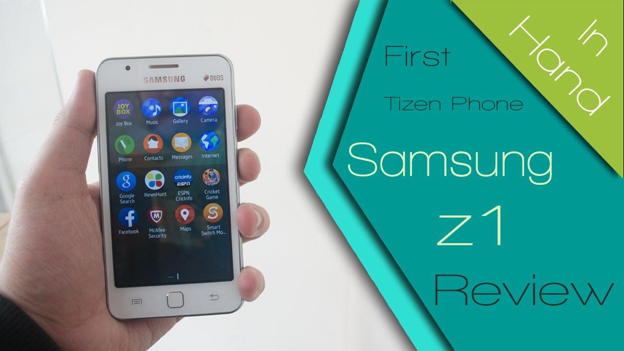 Samsung Z1 Tizen OS Smartphone: First impressions | GearOpen