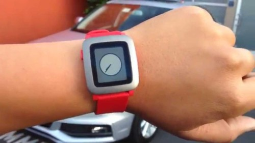 Pebble Time teased in Red, charger design done