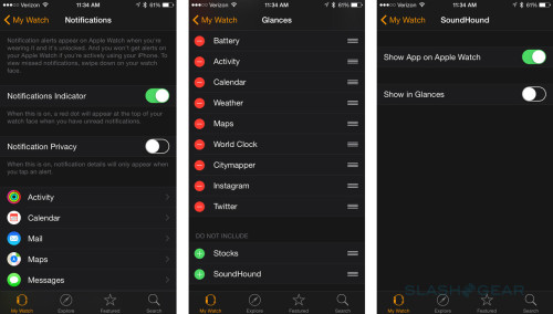 Understanding Apple Watch: Apps, Glances and Notifications