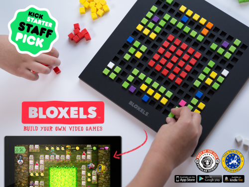 Bloxels lets you build your own video games one block at a time