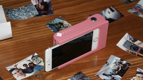 Prynt case prints instant photos from smartphones