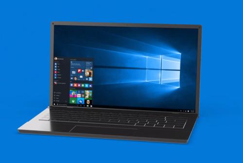 Microsoft reveals Windows 10's new wallpaper, a logo made of light