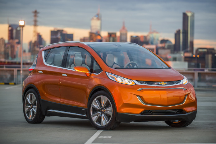 Chevrolet's Bolt EV is already crushing its 200 mile target