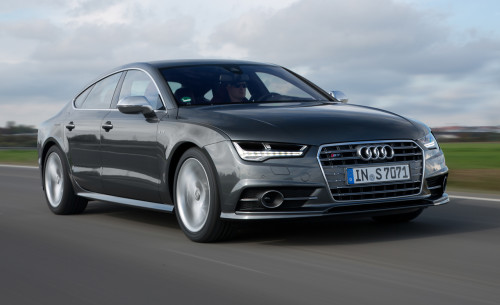 2016 Audi S7 up on power, and just about everything else