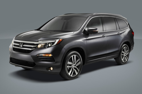 2016 Honda Pilot slims down its boxy design for a more family-friendly focus