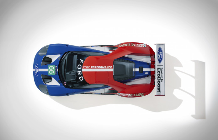 Ford GT Race Car to compete at Le Mans in 2016