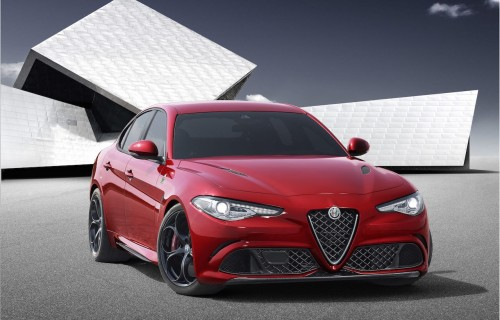 This is Alfa Romeo's stunning Giulia