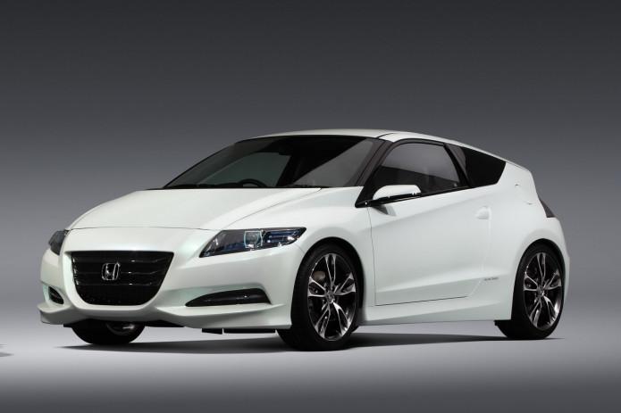 Honda CR-Z will run Pikes Peak with full-EV power