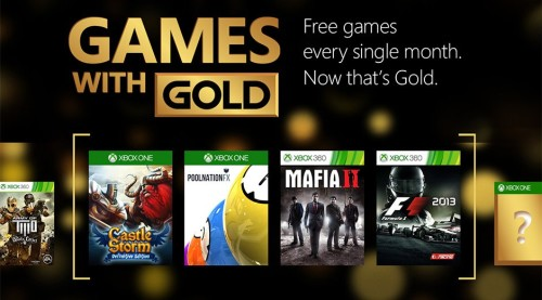 Xbox Live Gold now gets 2 more free games a month