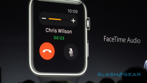 Apple Watch OS updates include Reply to Email, FaceTime Audio