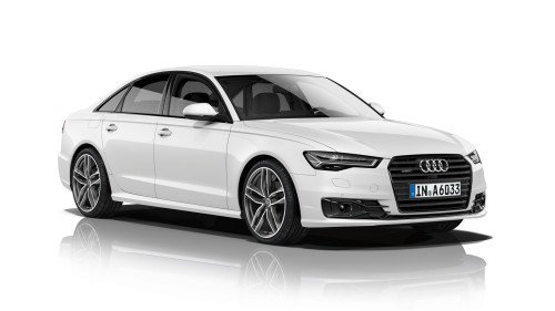 Audi A6 sedan makes do with four cylinders, improves fuel economy