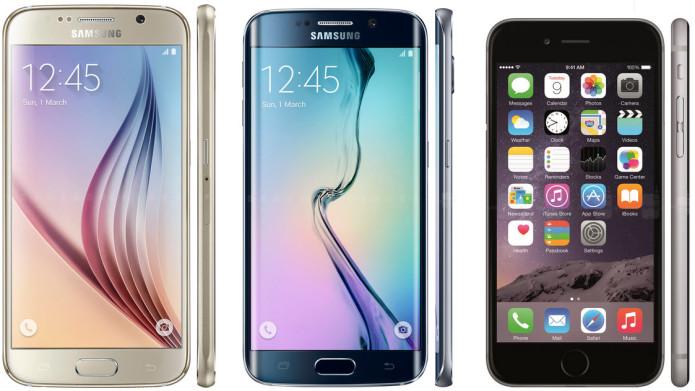 Samsung battles Galaxy S6 Edge vs iPhone 6