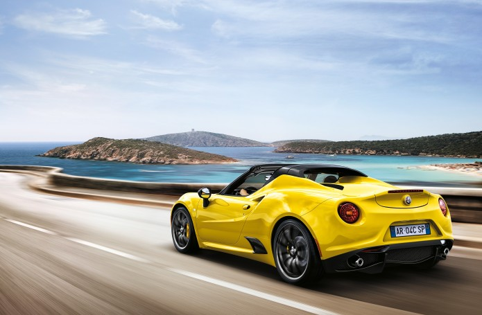 Alfa prices up its stunning 4C Spider