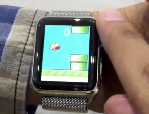 Just what the Apple Watch needs: its own Flappy Bird clone