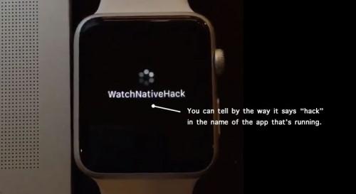 "Apple Watch hacked to run ""true"" native apps"
