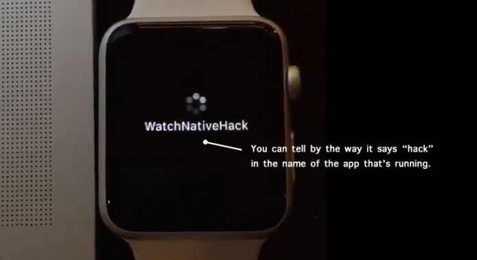 "Apple Watch hacked to run ""true"" native apps"