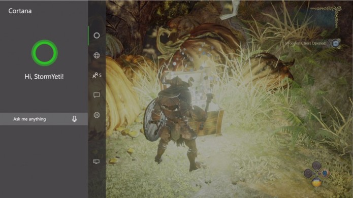 Xbox One's new Cortana feature will require a Kinect