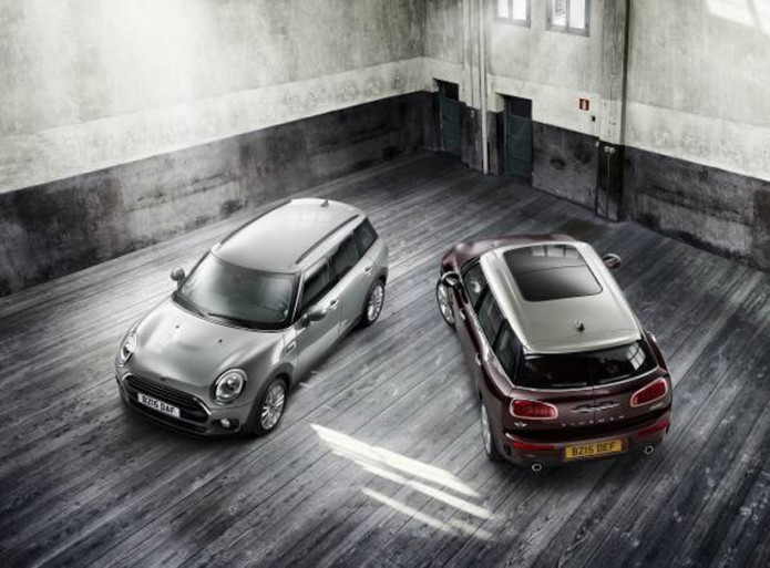 New Mini Clubman grows to accommodate five adults comfortably