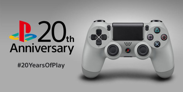 Sony Dualshock 4 20th Anniversary edition to land in September