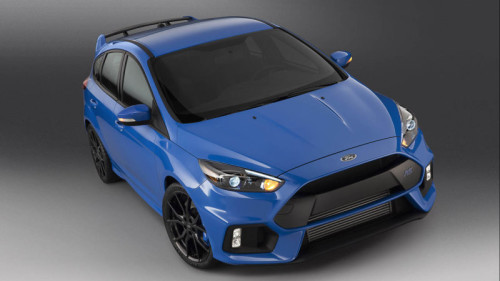 Ford Focus RS packs 345-hp punch