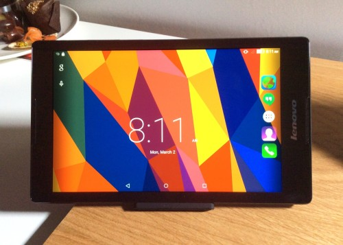 Three things to know about the Lenovo TAB 2 A8