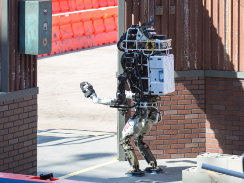 Team MIT's robot lost the DARPA challenge but won over the crowd