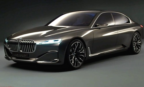 2016 BMW 7 Series revealed and it's a tech monster