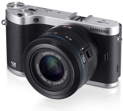Samsung NX300 aims to be prettier, faster, and better connected
